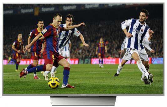Телевизор SONY KD55XD8577SR2 серебристый