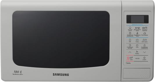 СВЧ Samsung GE83KRQS-3 800 Вт серебристый GE83KRQS-3 микроволновая печь samsung ge83krqs 3 800 вт серебристый ge83krqs 3