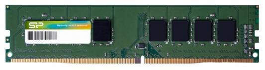 Оперативная память 4Gb PC4-17000 2133MHz DDR4 DIMM CL15 Silicon Power SP004GBLFU213N02 память ddr4 kingston kvr21r15s8k4 16 4х4gb dimm ecc reg pc4 17000 cl15 2133mhz