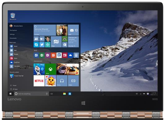"Ноутбук Lenovo IdeaPad Yoga 900S-12ISK 12.5"" 2560x1440 Intel Core M7-6Y75 80ML005FRK"