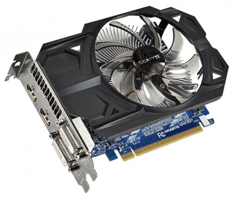 Видеокарта 1024Mb Gigabyte GeForce 750Ti PCI-E GV-N75TOC-1GI V2.0 Retail