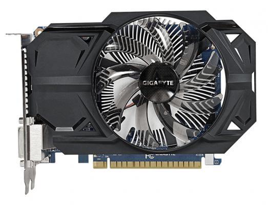 Видеокарта 1024Mb Gigabyte GeForce 750Ti PCI-E GV-N75TOC-1GI V2.0 Retail