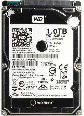 "Жесткий диск для ноутбука 2.5"" 1Tb 7200rpm 32Mb cache Western Digital Black SATAIII WD10JPLX"