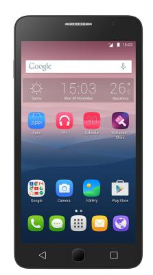 "Смартфон Alcatel OneTouch 5070D POP STAR белый 5"" 8 Гб LTE Wi-Fi GPS"