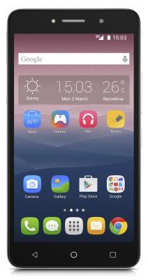 "Смартфон Alcatel OneTouch 8050D PIXI4 серебристый 6"" 8 Гб Wi-Fi GPS 3G 8050DMETAL/SILVER"