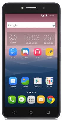 "Смартфон Alcatel PIXI4 черный 6"" 8 Гб Wi-Fi GPS 8050D"