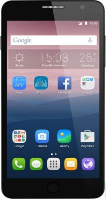 Смартфон Alcatel OneTouch 5070D POP STAR серый 5 8 Гб Wi-Fi GPS LTE