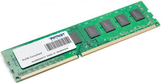 Оперативная память 4Gb PC3-10600 1333MHz DDR3 DIMM Patriot