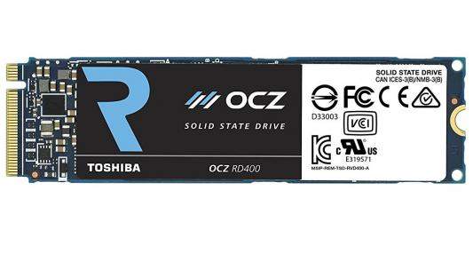 SSD Твердотельный накопитель PCI-E 256Gb OCZ Toshiba AIC w1150Mb/s r2600Mb/s RVD400-M22280-256G-A