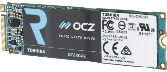 Твердотельный накопитель SSD 512Gb OCZ Toshiba M.2 2280 w1600Mb/s r2600Mb/s RVD400-M22280-512G