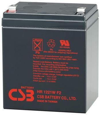 Батарея CSB HR1221WF2 12V/5AH батарея аккумуляторная csb gp1272 f2