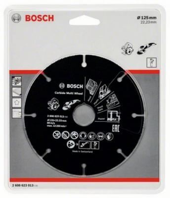 Отрезной круг Bosch 125х22мм 2608623013 по дереву отрезной круг bosch 300х25 4мм 2608623012 по дереву