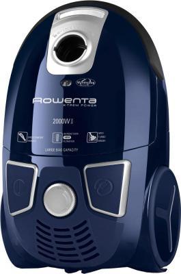 Пылесос Rowenta Ergo RO5441R1 с мешком сухая уборка 2000Вт синий ergo наушники отзывы