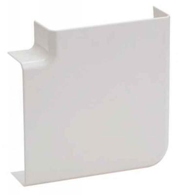 Угол Schneider Electric плоский для мини-канала 60x21 ETK60040