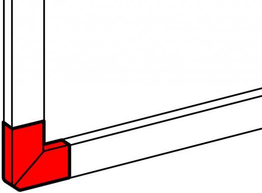 Угол Legrand плоский для 50х150 10789 угол legrand плоский 60х16мм 30293