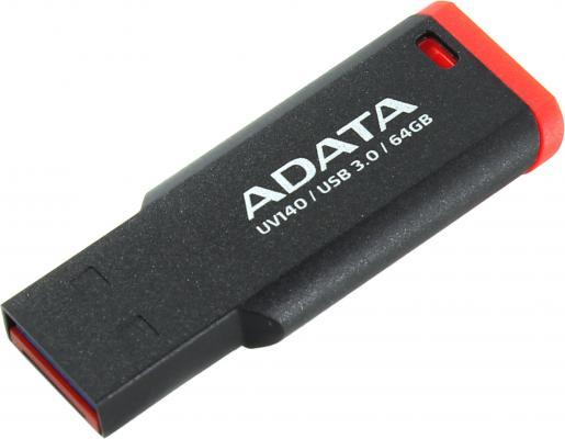 Флешка USB 64Gb A-Data UV140 USB3.0 AUV140-64G-RKD красный цена и фото