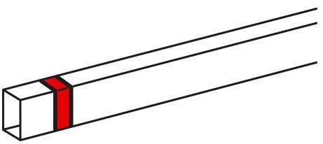 Накладка на стык Legrand Metra 40x16мм 638156