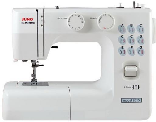 Швейная машина Janome Juno 2015 белый швейная машина janome juno 1915