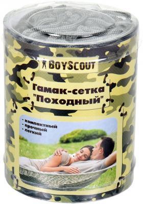 Гамак-сетка Boyscout Походный 61074 картридж colouring cg ce505x 719 для hp lj p2050 p2055 p2055d p2055dn canon lbp 6300dn 6650dn mf5840dn 5880dn mf5940 6500 копий