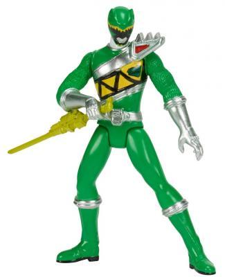 Игровой набор BANDAI Могучие рейнджеры Green Ranger 2 предмета 42162 bandai bandai power rangers игровой набор могучие рейнджеры рейнджер с оружием