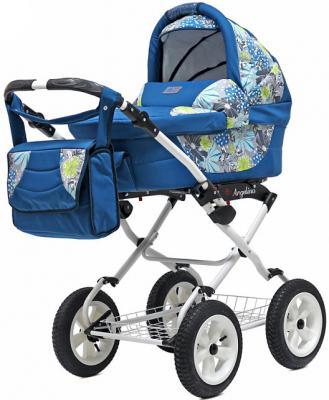Коляска для новорожденного Teddy BartPlast Angelina Lite PKL 2016 (FL03/синий)