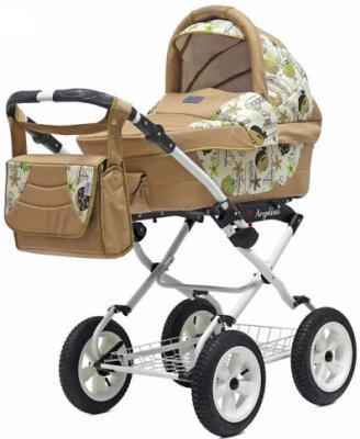 Коляска для новорожденного Teddy BartPlast Angelina Lite PKL 2016 (SA01/бежевый)