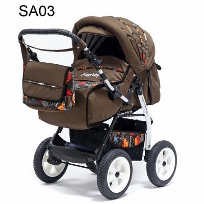 Прогулочная коляска Teddy BartPlast Diana 2016 PKL (SA03/коричневый)