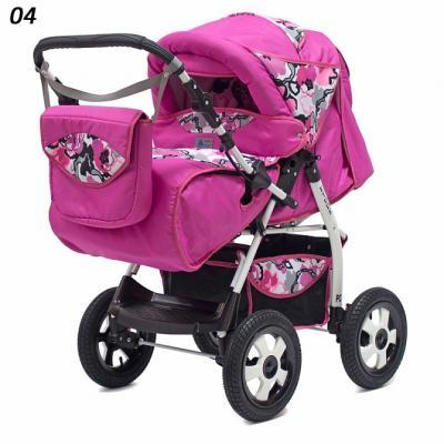 Прогулочная коляска Teddy BartPlast Etude PKL (04/розовый)
