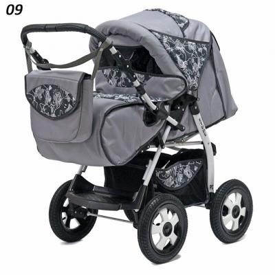 Прогулочная коляска Teddy BartPlast Etude PKL (09/серый)