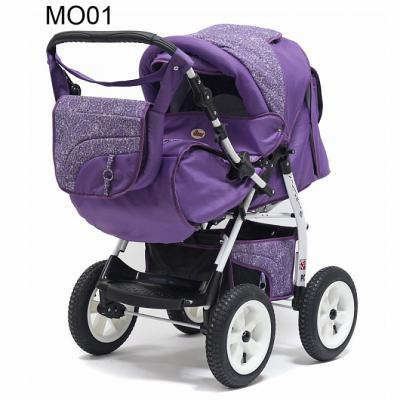 Прогулочная коляска Teddy BartPlast Victoria 2016 BKL (MO01/фиолетовый)