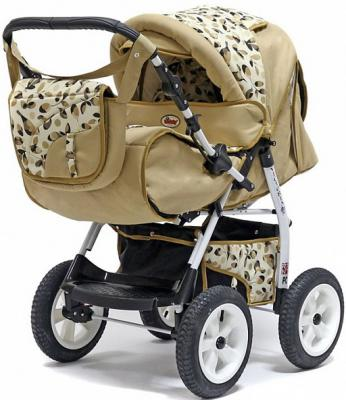 Прогулочная коляска Teddy BartPlast Victoria 2016 BKL (OS02/бежевый)