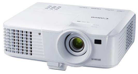 Проектор Canon LV-WX320 1280x800 3200 люмен 10000:1 белый проектор canon lx mw500