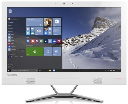 "Моноблок 21.5"" Lenovo IdeaCentre AIO 300-22ISU 1920 x 1080 Intel Core i5-6200U 4Gb 1Tb Intel HD Graphics 520 DOS белый F0BX00GSRK F0BX00GSRK"