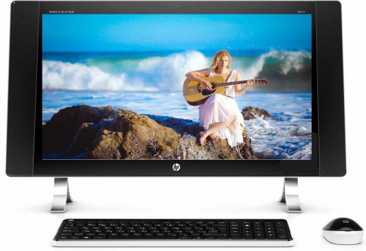 "Моноблок 27"" HP Envy 27-p272ur 2560 x 1440 Multi Touch Intel Core i7-6700T 16Gb 1Tb + 8 SSD AMD Radeon R9 A375 Windows 10 черный серебристый X1A82EA X1A82EA"