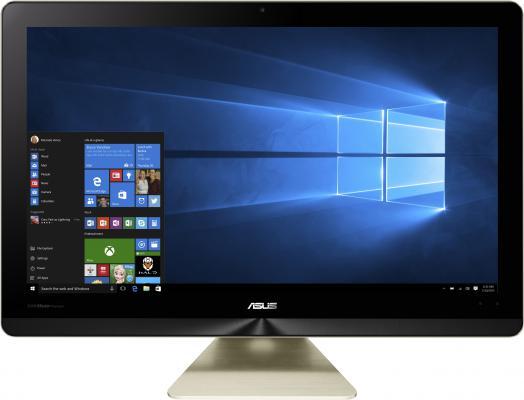 "Моноблок 21.5"" ASUS Zen AIO Z220ICGK-GC063X 1920 x 1080 Intel Core i3-6100T 8Gb 1Tb + 128 SSD Nvidia GeForce GT 930M 2048 Мб Windows 10 золотистый 90PT01D1-M02230 90PT01D1-M02230"