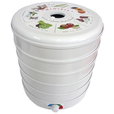 Сушилка для овощей и фруктов Ветерок Ветерок-5 белый ЭСОФ 0.5/220