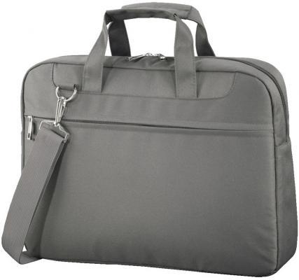 """Сумка для ноутбука 15.6"""" HAMA Ghana полиэстер серый 99101247"""