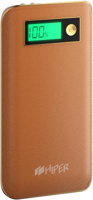Портативное зарядное устройство HIPER Power Bank XPX6500 6500мАч коричневый