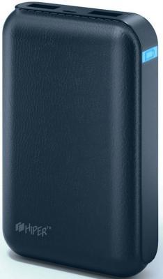 Портативное зарядное устройство HIPER Power Bank SP7500 7500мАч синий портативное зарядное устройство hiper rp8500 8500мач белый