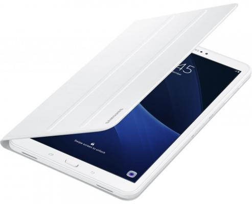 Чехол Samsung для Samsung Galaxy Tab A 10.1 Book Cover полиуретан/поликарбонат белый EF-BT580PWEGRU аксессуар чехол samsung galaxy tab a 10 1 book cover white ef bt580pwegru