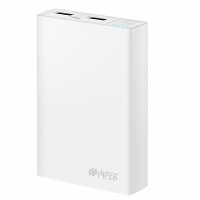 Портативное зарядное устройство HIPER RP8500 8500мАч белый босоножки quelle city walk 10051526