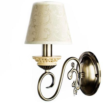 Бра Arte Lamp Ivory A9070AP-1AB arte lamp a9070ap 1ab