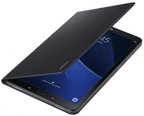"Чехол Samsung для Samsung Galaxy Tab A 10.1"" Book Cover полиуретан/поликарбонат черный EF-BT580PBEGRU"