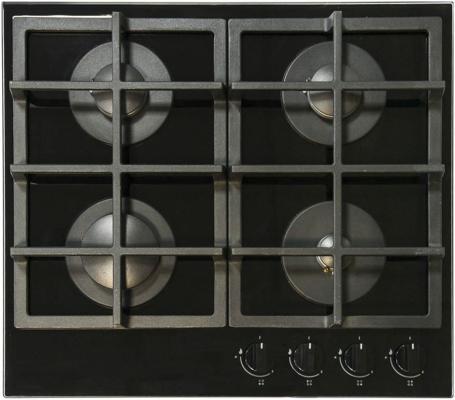 Варочная панель газовая Electronicsdeluxe GG4 750229F-011 черный