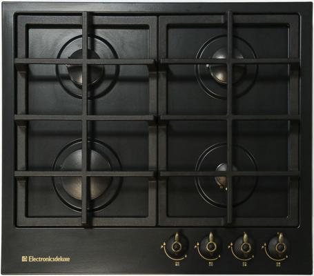Варочная панель газовая Electronicsdeluxe TG4 750231F -025 черный de luxe tg4 750231f 078