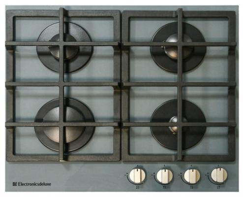Варочная панель газовая Electronicsdeluxe GG4 750229F -014 серый