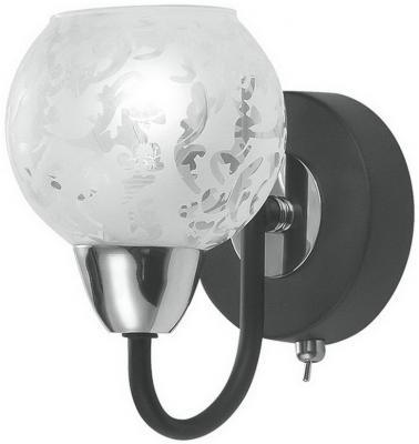 Бра IDLamp Herminia 382/1PF-Blackchrome