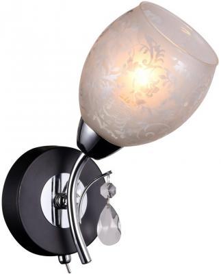 Бра IDLamp Agnes 843/1A-Blackchrome бра 846 1a blackchrome idlamp 1113443