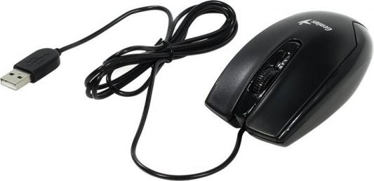 купить Мышь проводная Genius DX-100X чёрный USB онлайн