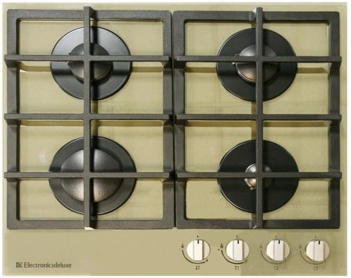 Варочная панель газовая Electronicsdeluxe GG4 750229F-020 зеркальный